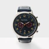 Paul Smith Men's Navy And Petrol 'Precision' Chronograph Watch