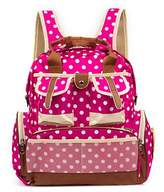 Baby Lovess Polka Dots Baby Boom Diaper Bag Backpack