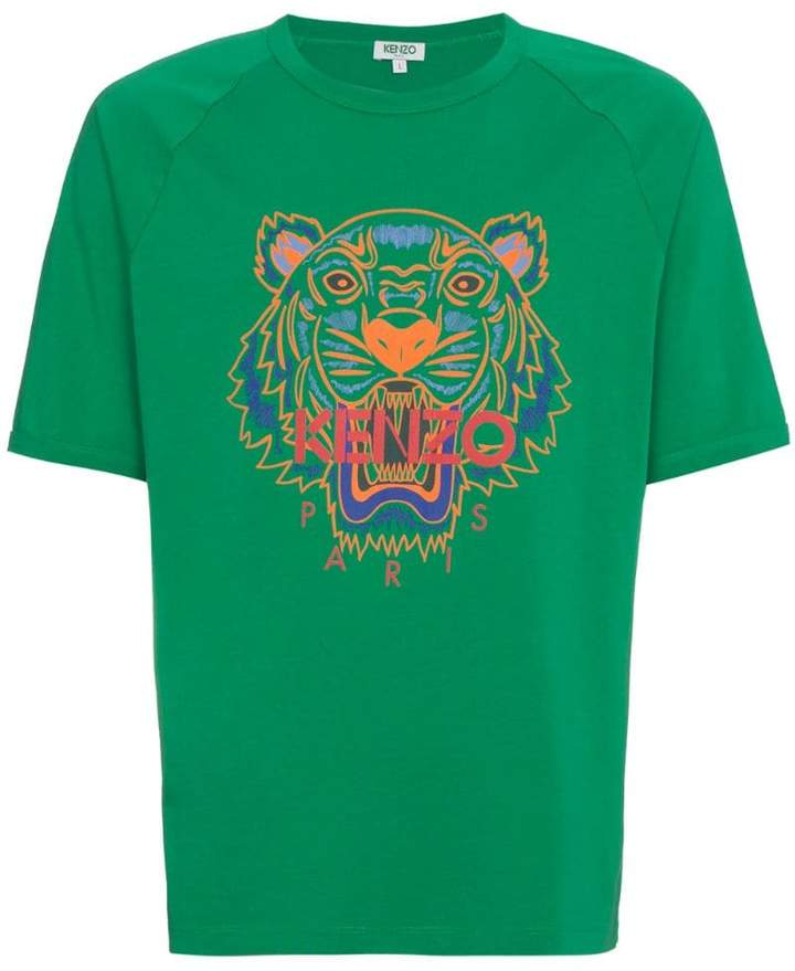 1e77fec0 Kenzo Green Men's Shirts - ShopStyle