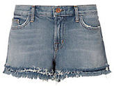 J Brand Sachi Low-Rise Frayed Shorts