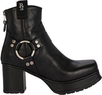 R 13 Ankle Harness Platform Boots