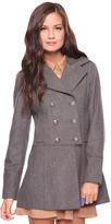 Forever 21 Knit Collar Coat