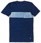 Denham Pocket Squadron Crew Neck T-shirt, Indigo