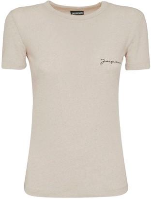 Jacquemus Logo Cotton Blend T-Shirt