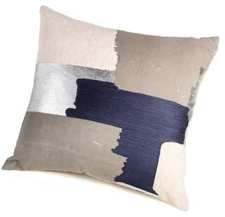 "Doma Zodax Linen Blend Throw Pillow - 18\"" x 18\"" - Multi"