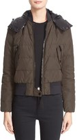 Moncler Women's 'Agathe' Water Resistant Hooded Down Jacket