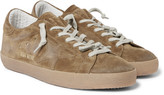 Golden Goose Deluxe Brand - Superstar Distressed Suede Sneakers