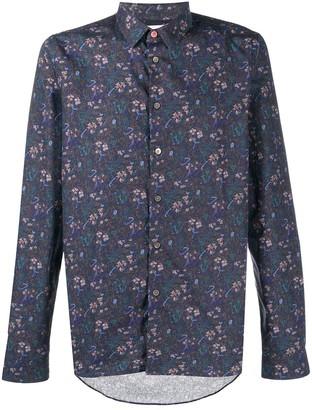 Paul Smith Floral-Print Long-Sleeved Shirt