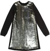 Sequins Embroidered Milano Jersey Dress