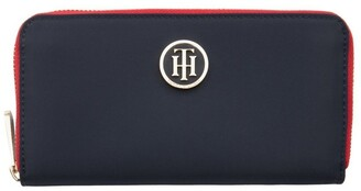 Tommy Hilfiger AW0AW04282_413 Poppy Navy Wallet