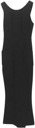 Chanel Black Wool Dresses