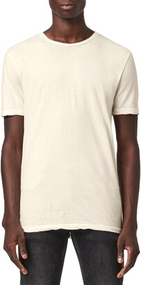AllSaints Kershaw Cotton & Silk T-Shirt