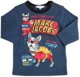 Little Marc Jacobs Superhero Printed Cotton Jersey T-Shirt