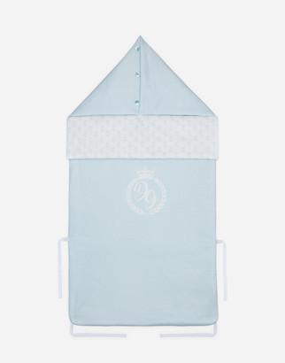 Dolce & Gabbana Jersey Sleeping Bag With Logo Print