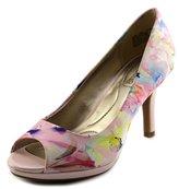 Bandolino Supermodel Women US 8 Multi Color Peep Toe Heels