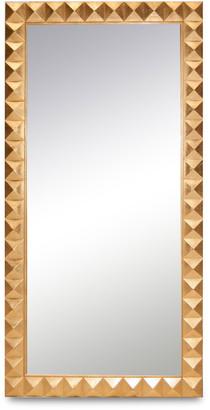 Badgley Mischka Home Ilsa Gold Leaning Mirror