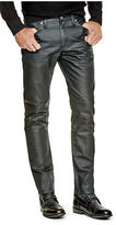 GUESS Men's Joziah Coated Skinny Jeans