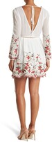 Thumbnail for your product : Lucy Paris Dolce Floral Embroidered Long Sleeve Dress