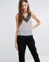 Sisley Sleeveless Lace Top
