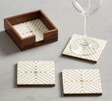 Pottery Barn Sputnik Zig-Zag Coasters