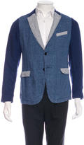 Gant Patchwork Notch Lapel Blazer