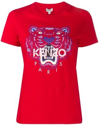 Kenzo motif detail T-shirt
