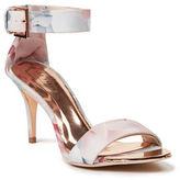Ted Baker Blynne Floral Ankle Strap Sandals
