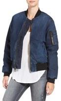 Hudson Women's 'Gene' Denim Bomber Jacket