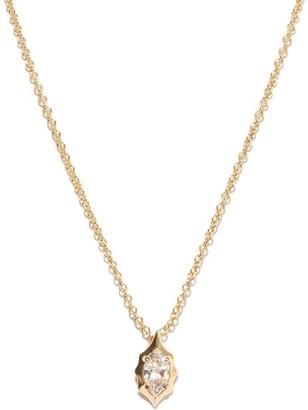 Jade Trau - Maverick Diamond & 18kt Gold Pendant - Womens - Gold