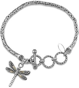 Samuel B. Silver & 18K Dragonfly Bracelet