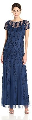 Adrianna Papell Women's Paillette Mermaid Gown