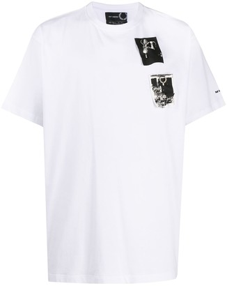Fred Perry graphic print cotton T-shirt