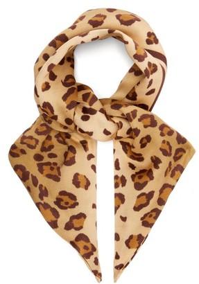 Hillier Bartley Leopard-print Hair Scarf - Leopard