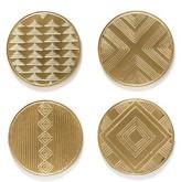 Lulu & Georgia Pattern Sketch Coasters (Set of 4)