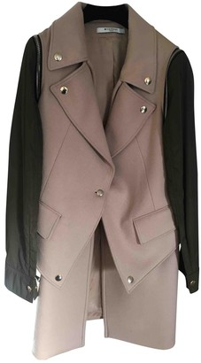 Givenchy Beige Wool Coat for Women