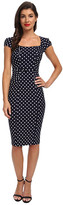 Stop Staring Celebrity Square Neck Shirred Front Dress