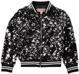 Urban Republic Sequined Bomber Jacket (Big Girls)