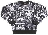 Molo Comic Printed Cotton Sweatshirt
