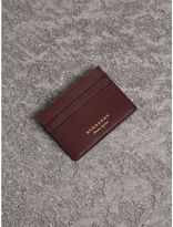 Burberry Trench Leather Card Case, Purple