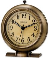 Bulova La Salle Table Clock in Antique Bronze