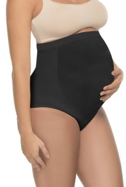 Annette Women's Soft and Seamless Full Cut Pregnancy Brief