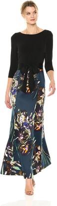 Ellen Tracy Women's Fall Bouquets Gown