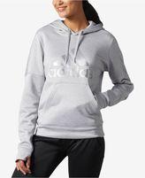 adidas Metallic-Logo Fleece Hoodie, Macy's Exclusive Style