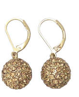 Anne Klein Fireball Leverback Earrings