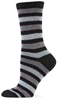 Hot Sox Ticking Stripe Sock