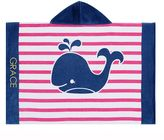 Pottery Barn Kids Breton Stripe Whale Nursery Wrap