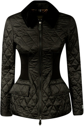 Burberry Quilted Fitted Jacket
