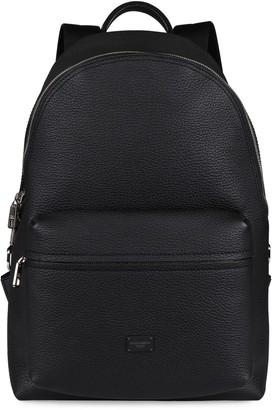 Dolce & Gabbana Vulcano Leather Backpack