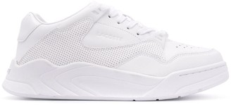 Lacoste Eyelet Detail Lace-Up Sneakers