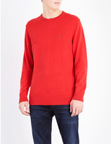 Tommy Hilfiger Pima cotton and cashmere-blend jumper